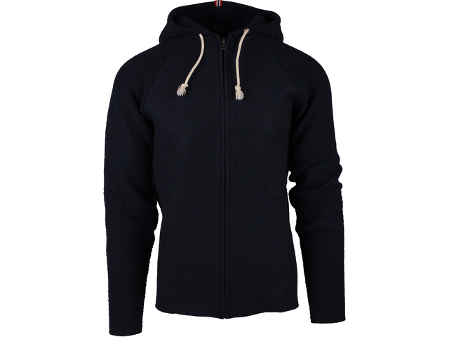 Amundsen Sports M´s Boiled Hoodie Jacket Faded Navy